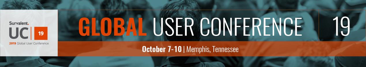 Register Now: 2019 Survalent Global User Conference banner