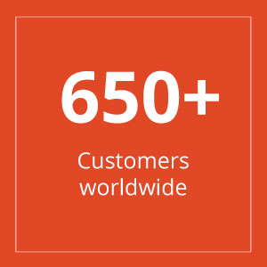 Square - Over 650 Customers worldwide