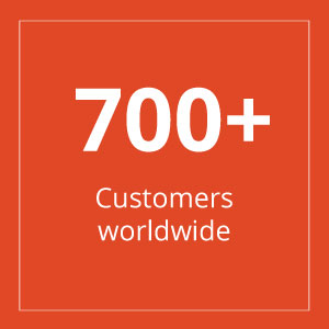 Square - Over 700 Customers worldwide