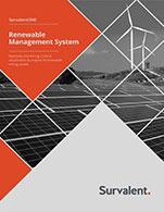 Renewable Management System Brochure Cover Image