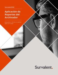 Archiver Reporting Cover page